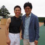 JRAの超一流騎手・北村宏司さんの復帰を見に、太田所長が中山競馬場へ(所員:高桑秀典)