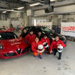 Team KEEP ON RACINGがALFA ROMO CHALLENGE Kanto Rd.EXに参戦