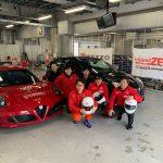 Team KEEP ON RACINGがアルファロメオチャレンジ  関東 Rd.EXに参戦