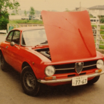 ハッサンの水色号/1974年式アルファロメオ GT1600ジュニア/偏愛日記 その12(所員:高桑秀典)